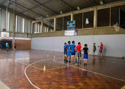 Cancha de Voleibol y Baloncesto